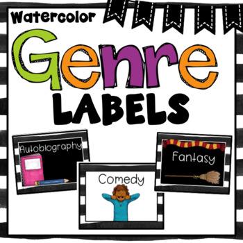 Genre Posters and Labels