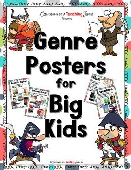 Genre Posters for Big Kids