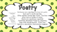 Genre Posters for Fiction and Nonfiction Polka Dots