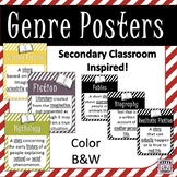 Genre Posters for Secondary Classrooms