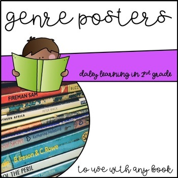 Genre Posters for any book