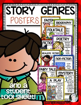 {Genre Posters} for the First Grade and Kindergarten Classroom