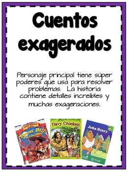 Genre Posters in Spanish