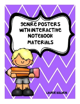 Genre Posters with Interactive Notebook Materials