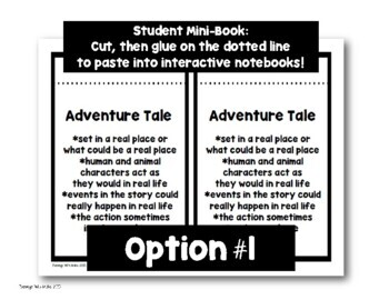 Genre Poster Set (with Interactive Notebook Option)