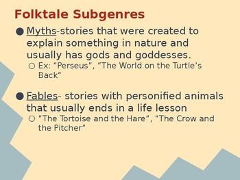 Genre Presentation