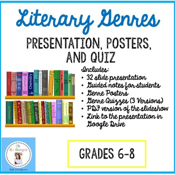 Genre Presentation, Posters, Quiz, and more