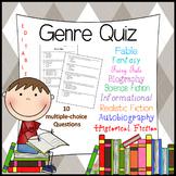 Genre Quiz or Assessment