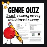 Genre Quiz- Editable