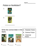 Genre Quiz (visual learners)