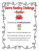 Genre Reading Challenge - Bingo/Booko