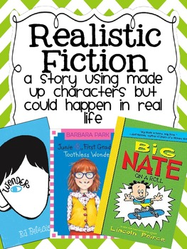 Genre Reading Poster: Realistic Fiction