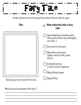 Genre Reading Responses and Checklist