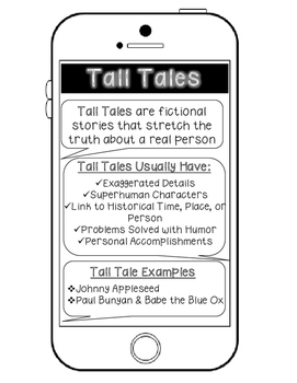Genre Reference Poster Set: Traditional Literature & Folktales
