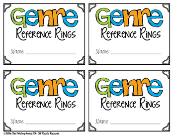 Genre Reference Rings