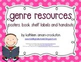 Genre Resources: Posters, Book Shelf Labels, Handouts