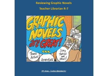 Genre - Responding to Text - Graphic Novels