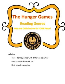 Genre Review Game- The Hunger Games Theme