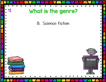 Genre Review PowerPoint Game Editable