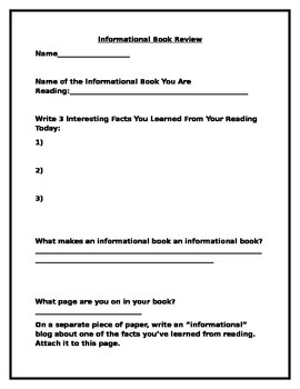 Genre Review Worksheets for Upper Elementary