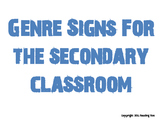 Genre Signs *Back To School*
