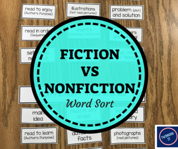 Genre Sort Fiction vs Nonfiction (Poetry Included!)