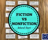 Genre Sort Fiction vs Nonfiction (Poetry Included!)