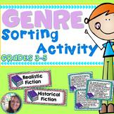 Genre Practice Sort Read a Paragraph Pick a Genre Sorting