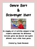 Genre Sort and Scavenger Hunt