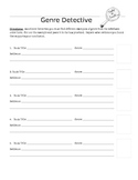 Genre Student Hand Out and Activity