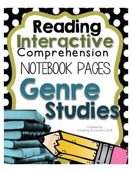 Genre Studies - Interactive Notebook Pages and Projects