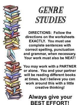 Genre Studies Learning Center Teacher Supplemental Resources Fun Engaging