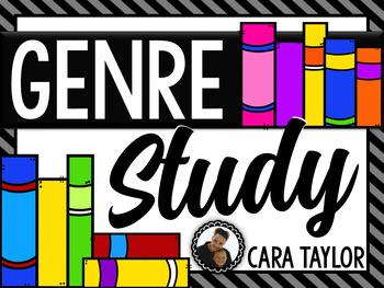 Genre Study Activties ~ Includes Display Posters!
