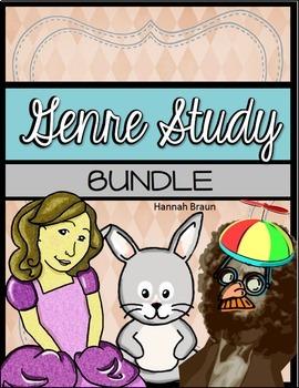 Genre Study Activities Bundle