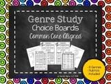 Genre Study Choice Boards