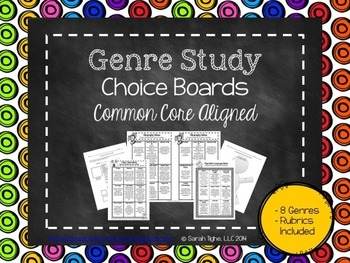 Genre Study Choice Boards