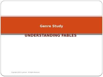 Genre Study:  Fables