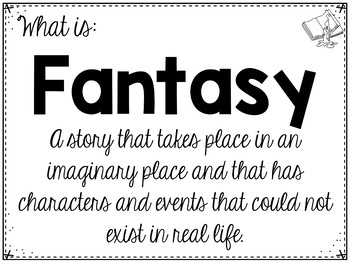 Genre Study: Fantasy