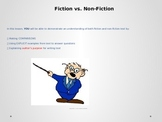 Genre Study:  Fiction vs. Non Fiction