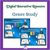 Genre Study Activities Digital Interactive Resource