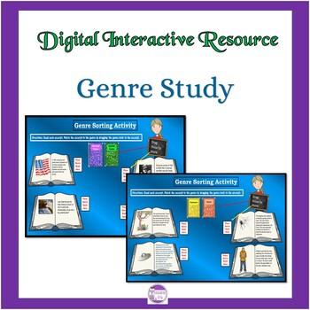 Genre Study Activities: Google Interactive Resource