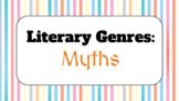 Genre Study Lesson: Myths