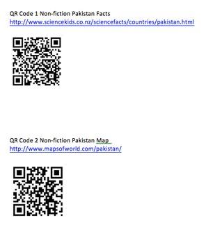 Reading Genre Study: Destination Pakistan