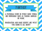 Genre Study Posters