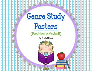 Genre Study Posters and Booklist