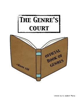 """Genre Study: """"THE GENRE'S COURT""""- FUN way to reinforce genres in your classroom!"""