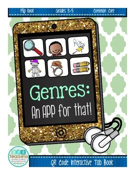 Genre Tab Book - Interactive with QR linked stories