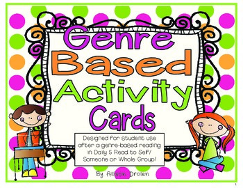 Genre Task Card Bundle