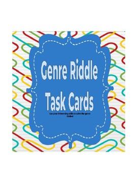 Genre Riddle Task Cards