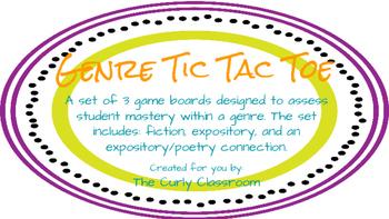 Genre Tic Tac Toe